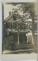 Victorian Home House Residence RPPC c1910 Real Photo Postcard K11
