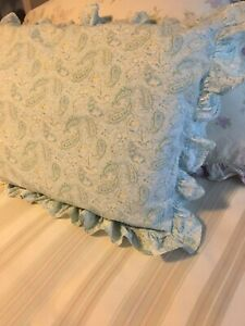 """Vintage """"Pink Label"""" Rachel Ashwell Shabby Chic Couture Standard Pillow Sham"""