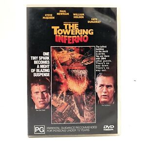 The Towering Inferno (DVD, Region 4, 1974)