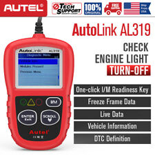 Autel Autolink AL319 OBD2 Scanner OBDII Car Engine Check Fault Diagnostic Tool