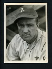 Nelson Potter Press Photo USED for his 1941 Double Play # 129 130 card A's