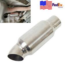 """Universal Car Exhaust Muffler Resonator Tip 2.5""""Inelt 2.5""""Outlet USA"""