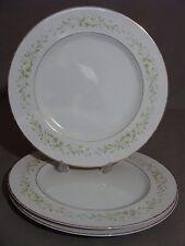 3 Carlton China Dinner Plates, #337 Blakely Pattern, Made In Japan