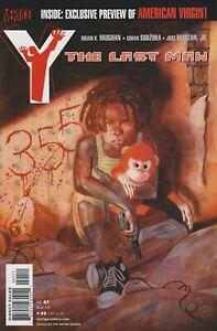 Y: The Last Man #41. Mar 2006. Vertigo/DC. NM-.