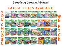 Leapfrog LeapPad Explorer Games for Leappad 1-3, Ultra, XDI, Platinum, Ultimate