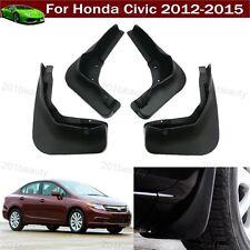 New Car Mud Flap Splash Guard Fender Mudguard Mudflap For Honda Civic 2012-2015