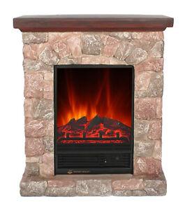 El Fuego Elektrokamin Dekokamin Kamin Ofen Heizer m. FB LED LUGANO AY608