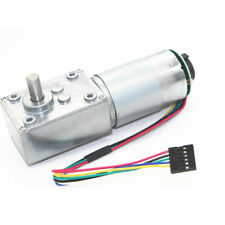 12V Electrical Speed Reducer 470rpm Gear Reduction Motor DC Motor w/ Encoder