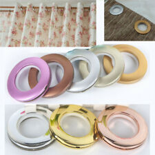 40mm Curtain Eyelet Ring Snap For Blinds Drapery Circle Slide Round Clip Grommet