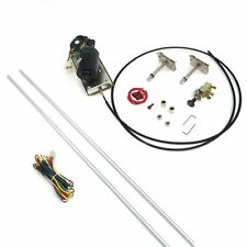 1939-56 Mercury Wiper Kit w Wiring Harness exterior cable drive gasser hood scta