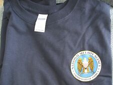 US NSA National Security Agency Navy Blue Short Sleeve XXL 2XL Tee Shirt w/Tags