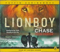 Lionboy The Chase Zizou Corder 4CD Audio Book Abridged Anton Lesser FASTPOST