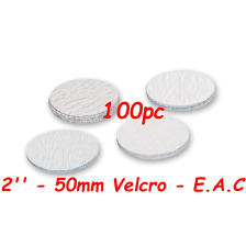 "50mm 240 Grits 100pcs Velcro Hook & Loop 2"" Sanding Discs Made By E.A.C UK"