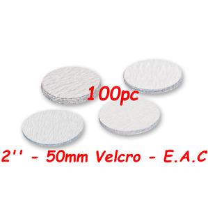 "50mm 240 Grits 100pcs Hook & Loop 2"" Sanding Discs Made By E.A.C UK"