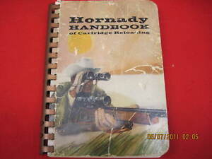 Hornady reloading manual 1967