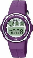 Lorus Ladies Resin Strap Digital Multi Function Watch R2379DX9-LNP