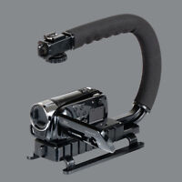 Pro Stabilizer C/U-Shape Bracket Video Handheld Grip For Camcorder Camera DSLR