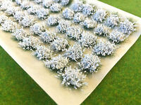 Large White Flower Tufts - Model Scenery Static Grass Warhammer Railway Garden