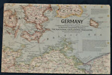 Germany Map, Alla's Plate 35 : June 1959, 19 inches Wide and 25 inches Tall