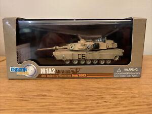 Dragon Armor 1/72 M1A2 Abrams Tank 4th Infantry Division Iraq 2003 (#60016)