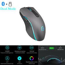 Mouse  4.0+ 2.4Ghz Wireless Dual Mode Mouse 2400DPI Ergonomic Portable