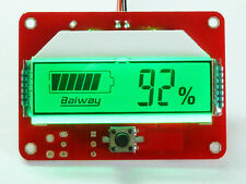 LCD Battery Capacity Tester Indicator car for 12V 48V Lead-acid Lithium Cell