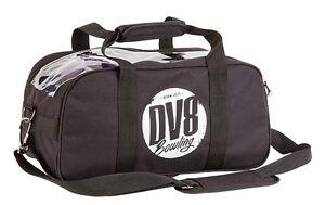 DV8 Tactic Black 2 Ball Tote Bowling Bag