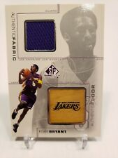 2000-2001 Kobe Bryant UPPER DECK SP AUTHENTIC Game Floor/Fabric Edition KB-C