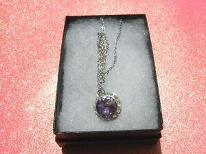 SWAROVSKI Vitrail Light Elements Crystal Rhinestones Pendant 18' Necklace & Box