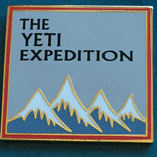 Wdi Expedition Everest Grand Opening Patches Yeti Pin Le 500