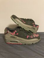 Nike Air Max 90 C Cargo Khaki Pink Mens Running Shoes AH8440-300 Size 11.5 NEW