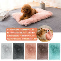Soft Plush Pet Dog Blanket Cat Bed Mat Breathable Warm Mattress Cushion Pad
