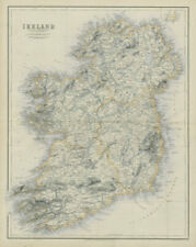 Ireland by George Heriot SWANSTON 1860 old antique vintage map plan chart