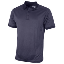 Callaway Denim Jacquard Polo Shirts Peacoat XL