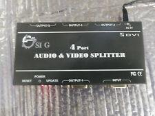 CE-D20411-S1 Siig CE-D20511-S1 1 in 4 out Dual Link DVI video splitter