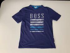 Hugo Boss Boys Polo T Shirt, Size Age 12 Years, XS, Vgc