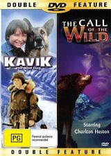 KAVIK THE WOLF DOG & THE CALL OF THE WILD -  2 GREAT FILMS NEW & SEALED DVD
