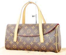 Authentic LOUIS VUITTON Sonatine Monogram Clutch Handbag Purse #26016