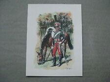 Affiche : chasseur à cheval premier empire
