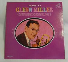 "Glenn Miller ""The Best of Glenn Miller"" Vinyl LP Record. LPM-3377. RCA Victor"