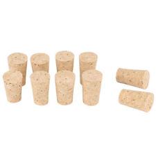 10pcs Tapered Corks Stoppers DIY Craft Art Model Building 22*17*35mm N9V6 U L6S1