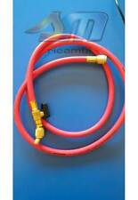 FRUSTA TUBO FLESSIBILE ROSSO 45° MT.1.5 CON RUBINETTO 1/4X1/4 R134-R407C-R422