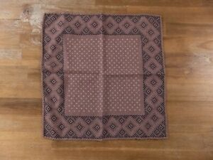 BRUNELLO CUCINELLI polka dots wool pocket square authentic
