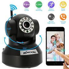 KKMOON 0.3MP Camera PnP P2P Pan Tilt IR WiFi Wireless Network IP Webcam B-US