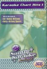 SUNFLY KARAOKE CHART HITS 1 DVD NEU OVP D80