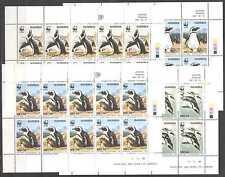 Namibia 1997 Jackass PENGUINS/WWF 10v shts ref:n16658