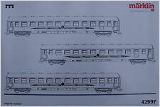 "Märklin 42997 ensemble de wagons ""Flèche d'apple"" DB #neuf emballage d'origine"