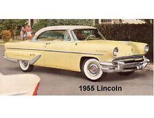 1955 Lincoln  Auto Refrigerator Magnet