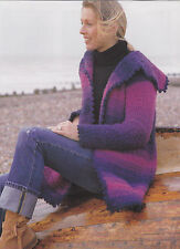 Crochet Pattern ~ LADIES SHADED BLANKET COAT JACKET ~ Instructions