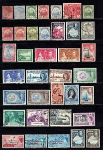 Bermuda stamps, excellent group of 37 classics, mint & used, SCV $33.75